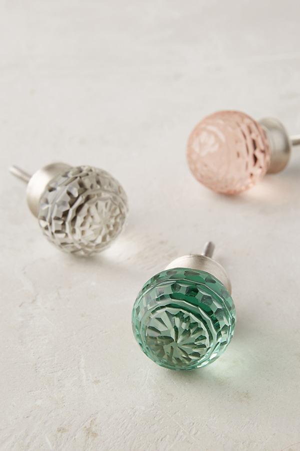 Lorelai Glass Knob - Pink