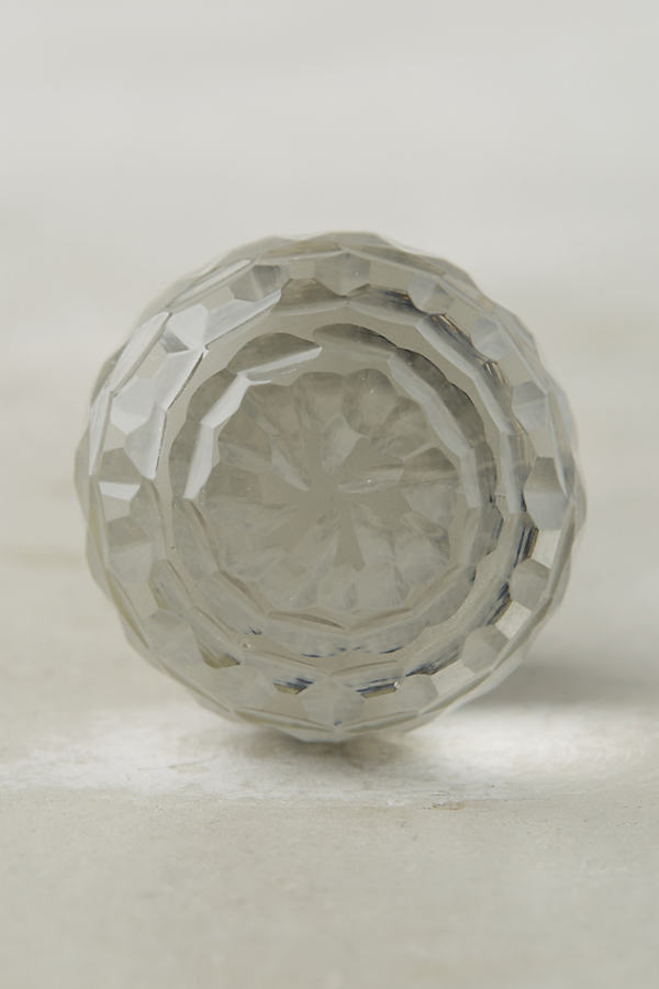 Lorelai Glass Knob - Clear