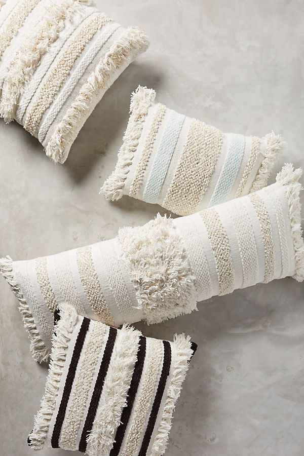 Textured Indira Pillow Anthropologie