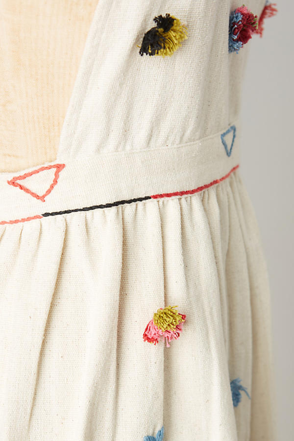 Slide View: 2: Tufted & Textured Apron
