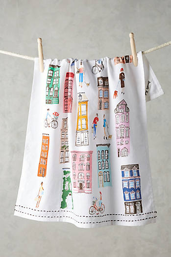 Townhouse Tea Towel