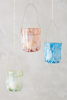 Slide View: 1: Confetti Glass Votive Set