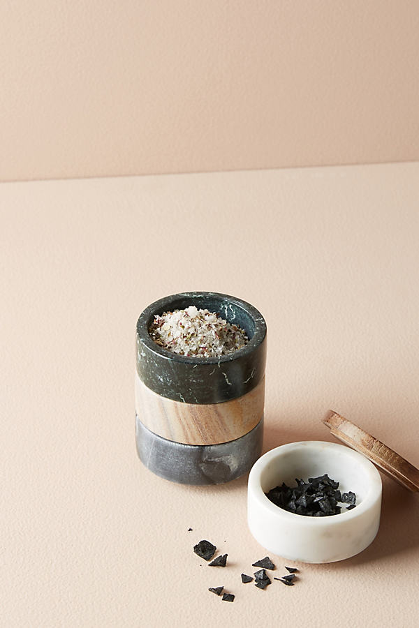 Marble Stacking Pinch Pot Trio - A/s