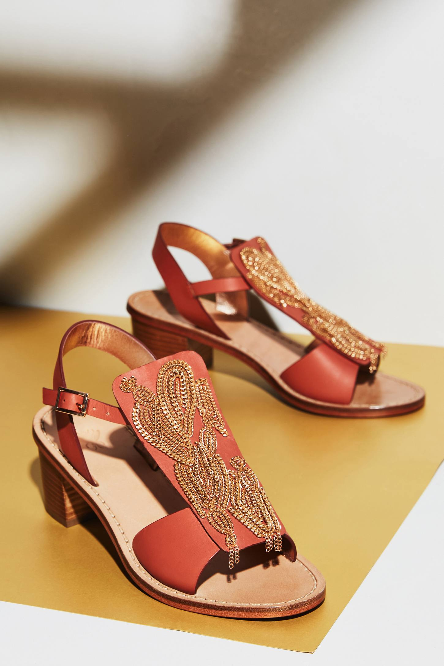 Slide View: 6: Sanchita Chain Sandals