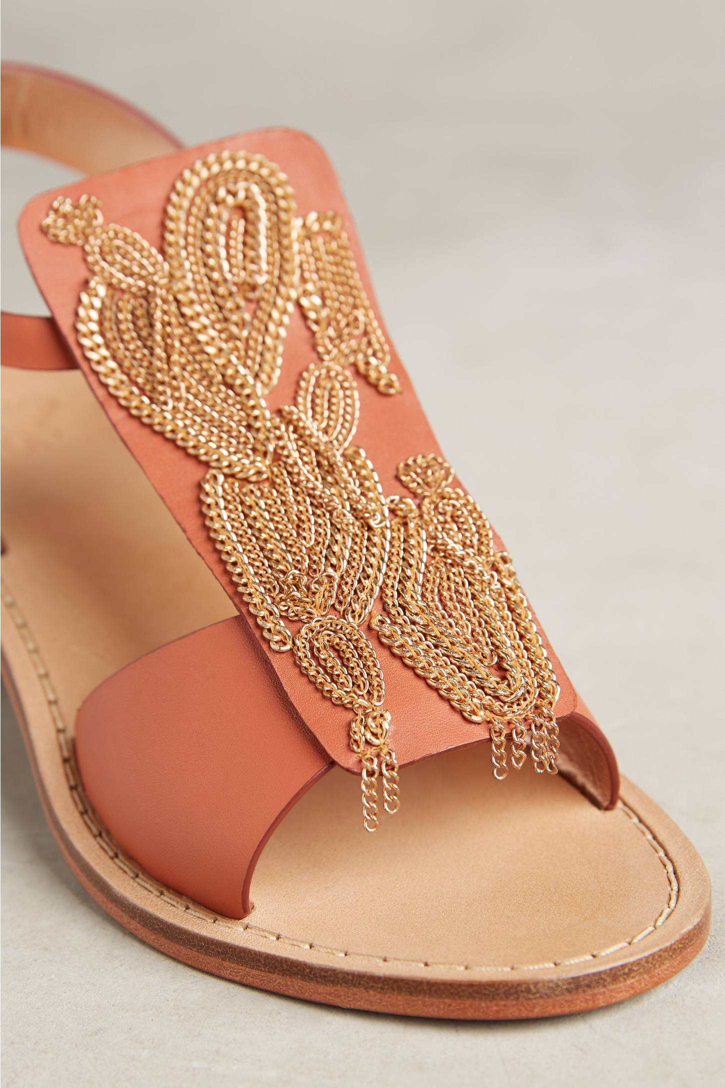 Slide View: 4: Sanchita Chain Sandals