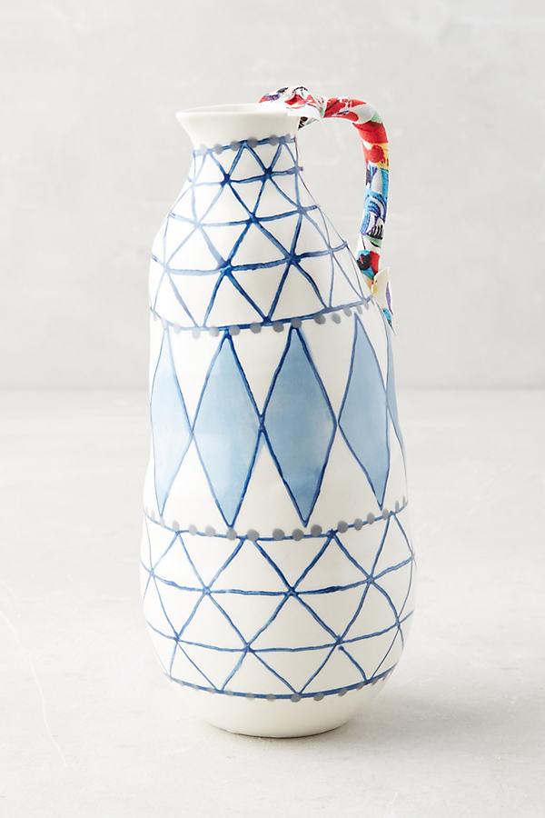 Keramisk Vase - Blue, Size L
