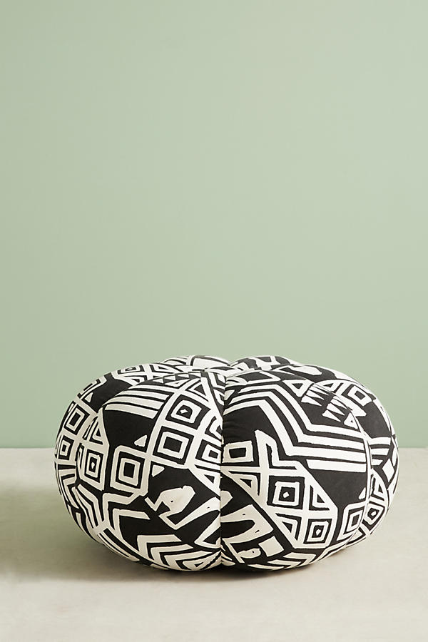 Slide View: 3: WHIT Geo-Printed Pouf