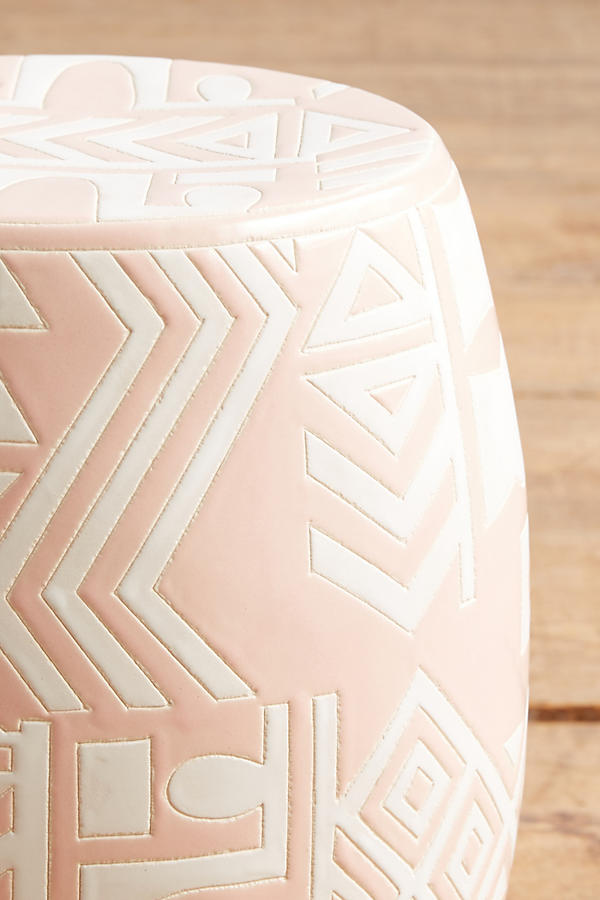 Slide View: 2: WHIT Ceramic Stool