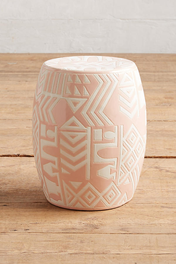 Slide View: 1: WHIT Ceramic Stool