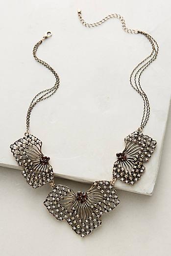 Petalwing Bib Necklace