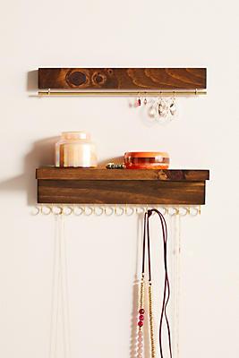 Slide View: 3: Hanging Jewelry Organizer