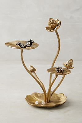 Slide View: 1: Lilypad Jewelry Stand