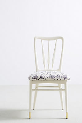 Slide View: 1: Lemur-Printed Haverhill Dining Chair