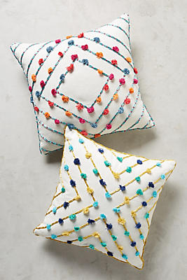 Slide View: 4: Suzette Tasseled Pillow