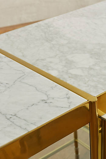 Slide View: 2: Brass Parabola Console