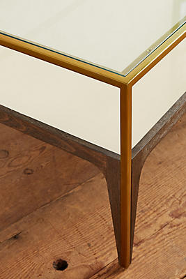 silhouette display coffee table | anthropologie