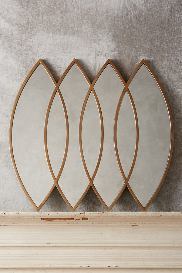 Emerging Ellipses Mirror - Bronze