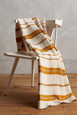 Slide View: 1: Heather Taylor Marigold Throw Blanket