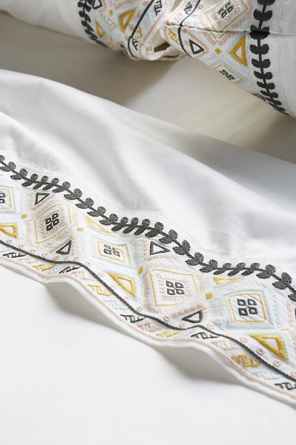 Slide View: 2: Simo Embroidered Sheet Set