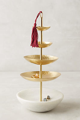 Tasseled Jewelry Stand