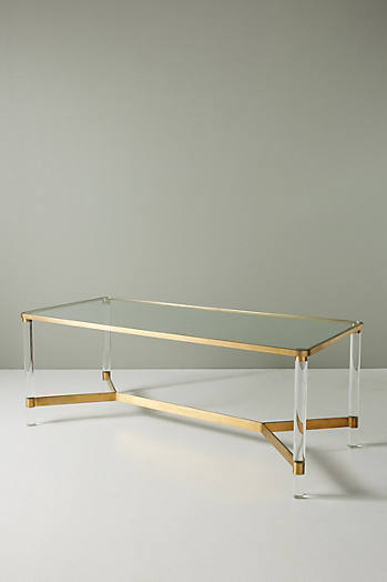 Slide View: 3: Oscarine Lucite Dining Table
