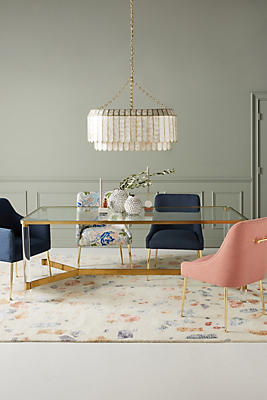 Slide View: 1: Oscarine Lucite Dining Table