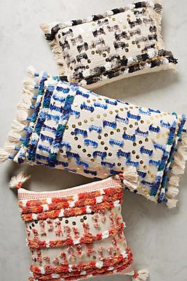 Slide View: 4: Textured Safira Pillow