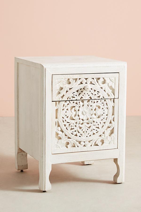 Lombok Three-Drawer Dresser - White