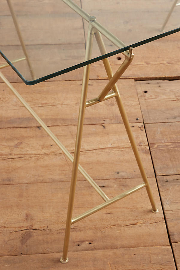Slide View: 2: Isosceles A-Frame Dining Table