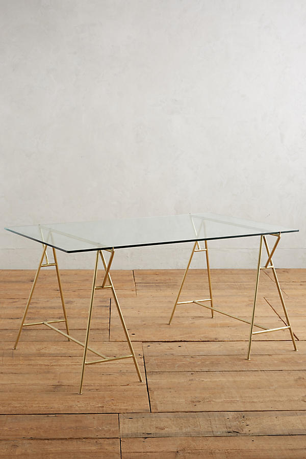 Slide View: 1: Isosceles A-Frame Dining Table