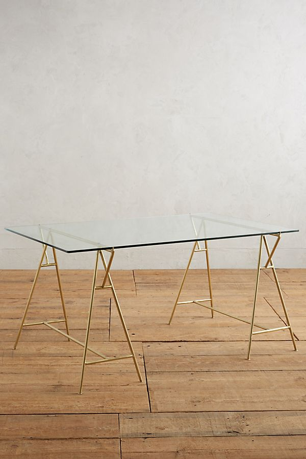 Isosceles A-Frame Dining Table | Anthropologie