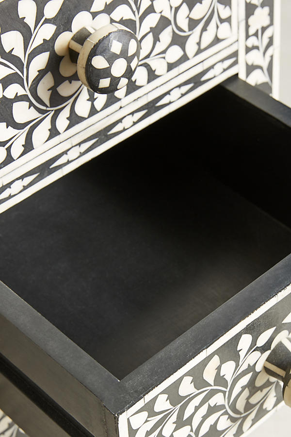 Slide View: 6: Bone Inlay Lingerie Chest