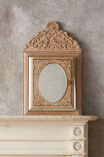 Handcarved Chennai Mirror