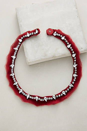 Charlotte Red Collar Necklace