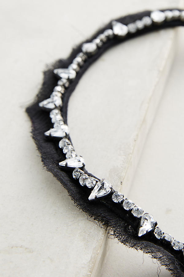 Charlotte Black Collar Necklace
