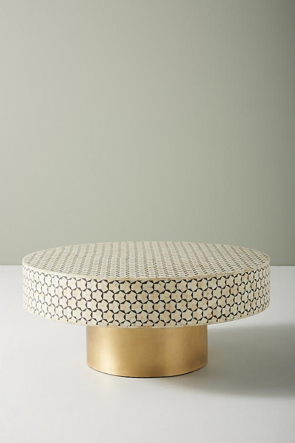 Targua Petite Coffee Table - Grey, Size S