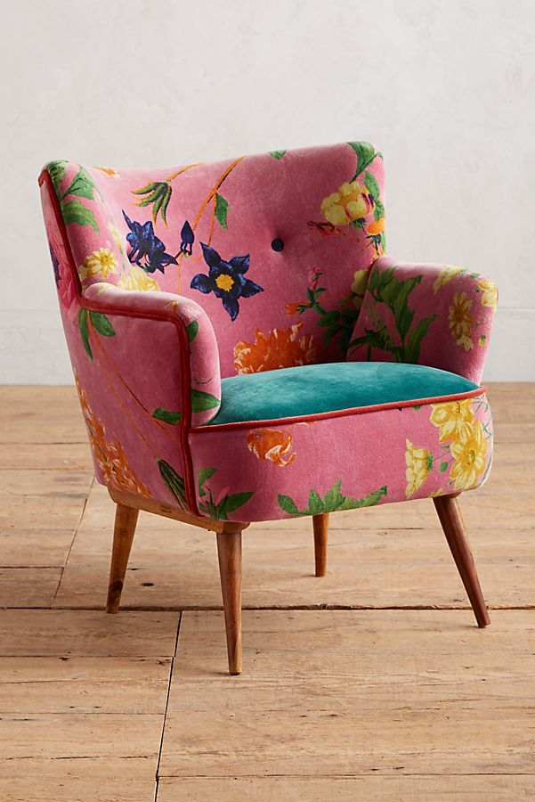 Slide View: 1: Floret Accent Chair