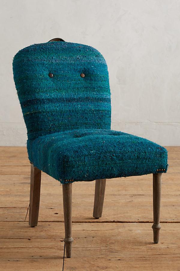 Folkthread Dining Chair - Dark Turquoise