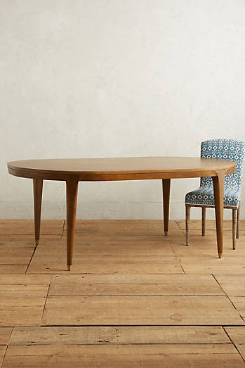 Walcotte Dining Table, Oval