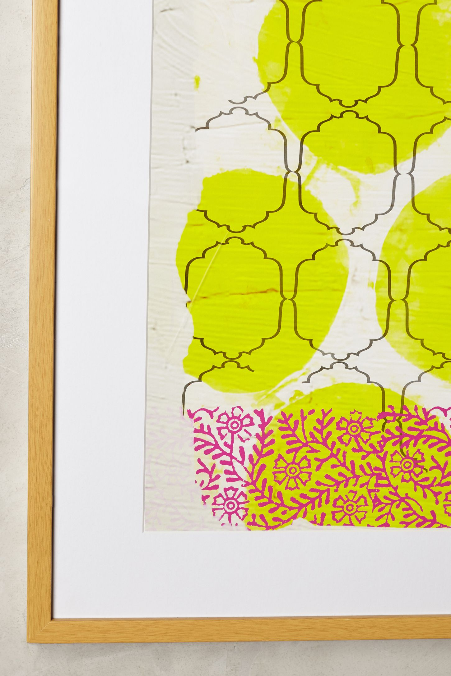 My Yellow Joy Wall Art | Anthropologie