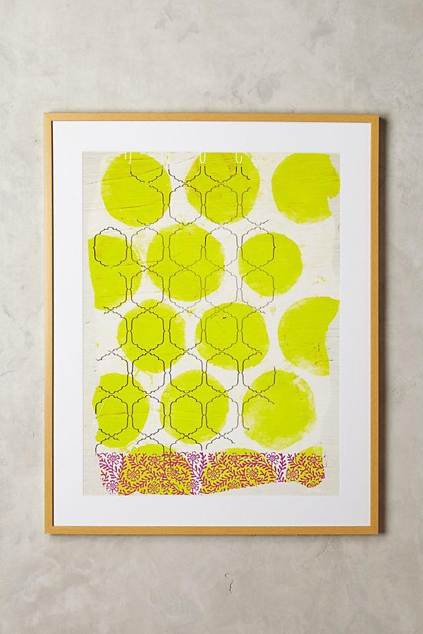 My Yellow Joy Wall Art   Anthropologie