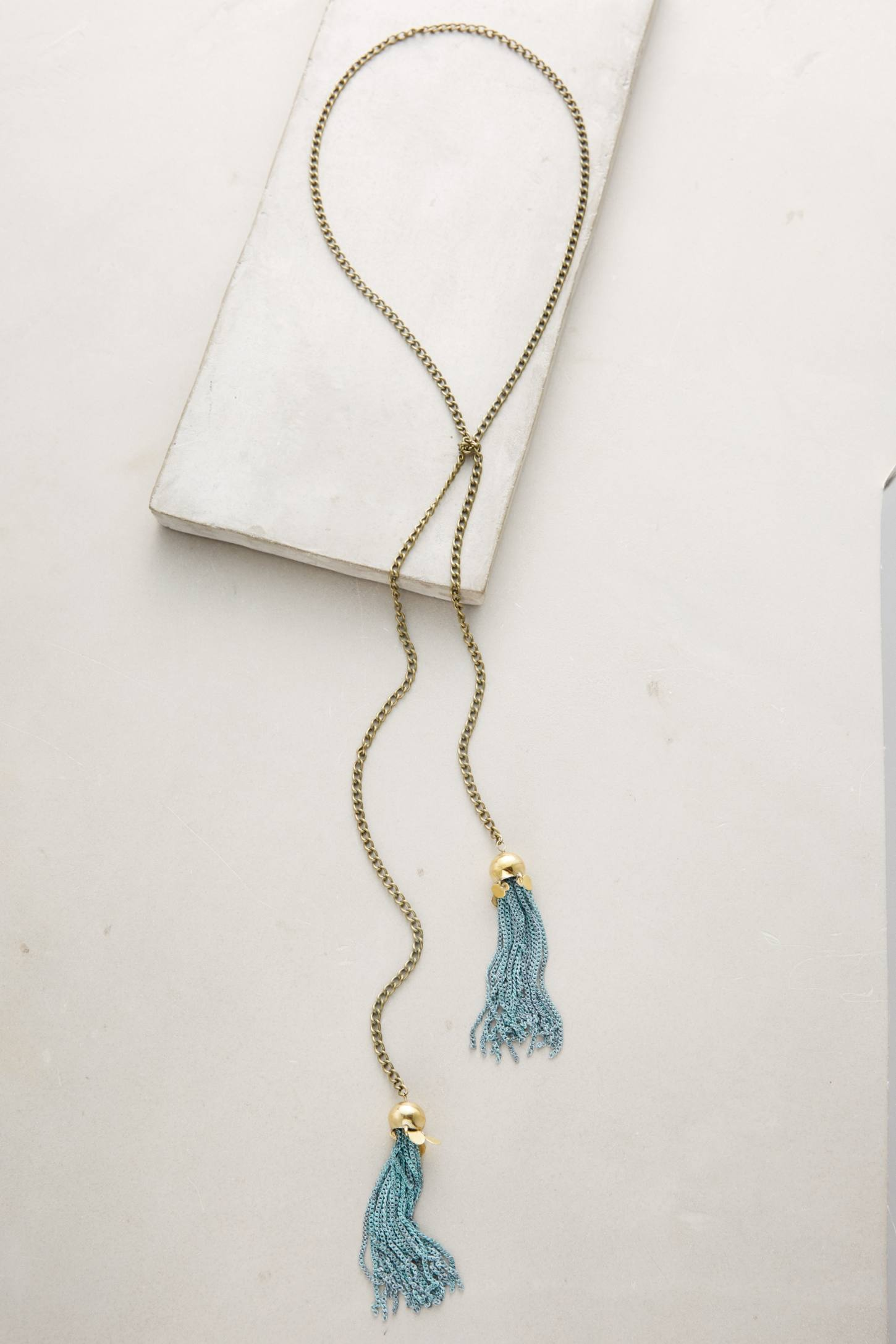 Tasseled Chain Necklace
