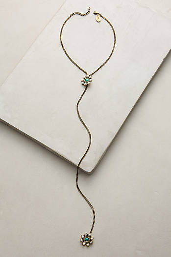 Desert Bloom Lariat Necklace