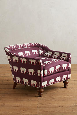 Slide View: 1: Sketched Safari Holloway Chair