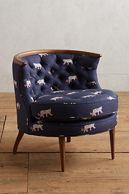 Slide View: 1: Sketched Safari Bixby Chair