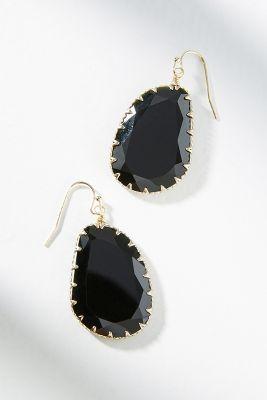 Issoria Drop Earrings  -    BLACK