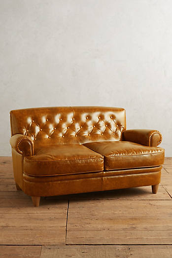 Leather Kimmeridge Settee
