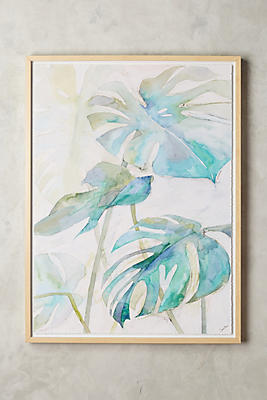 Anthropologie Wall Art tropicales wall art | anthropologie