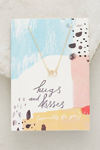 Notecard Gifting Necklace