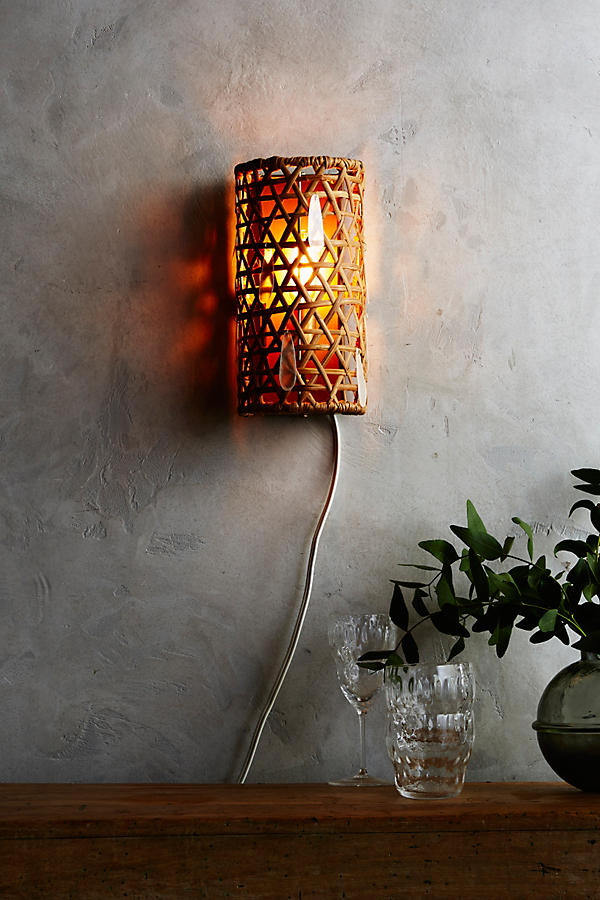 Slide View: 2: Paillette Sconce